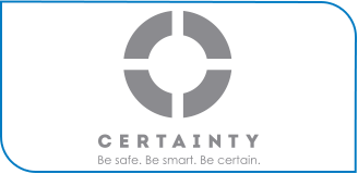 learn about CERAINTY antimicrobial and fluid barrier technologies technology logo icon
