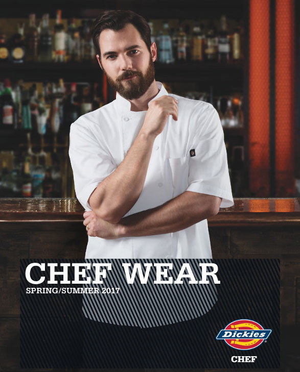 Dickies Chef Spring Summer 2017 Catalog